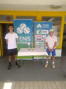6 225x300 - U16: Laniškova dobro formo potrdila z naslovom v Celju, medvoški finale v Novi Gorici