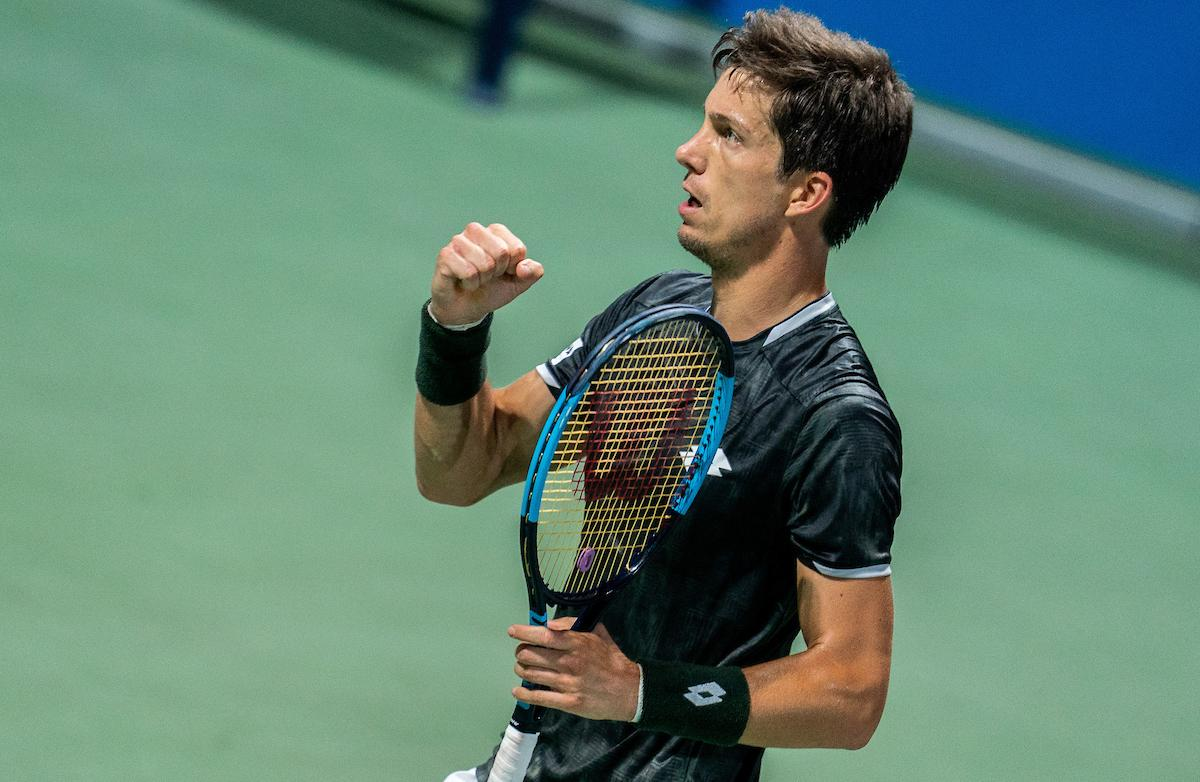 ATP Challenger Portoroz 3429 190817 VID - Bedene po preobratu napredoval v glavni del turnirja serije Masters