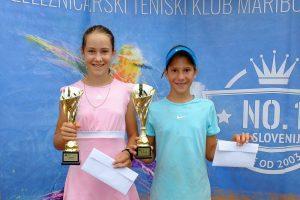 DSCF6502 1 300x200 - U12: V kategoriji A do naslova Petrović in Butina Jazbečeva, B turnirja Merviču in Mastnakovi