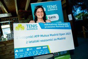 Katja Jagodic nagrada 300x201 - Končan prvi teden teniškega festivala v Portorožu
