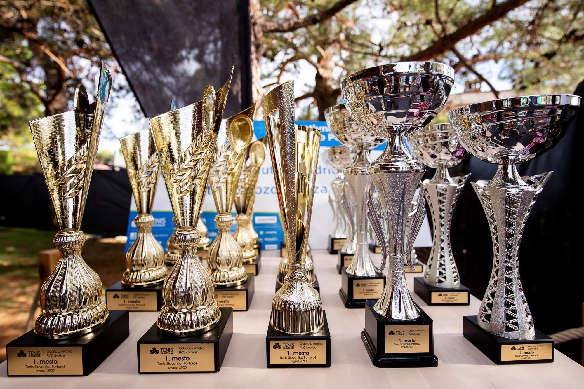 Pokali - Končan prvi teden teniškega festivala v Portorožu