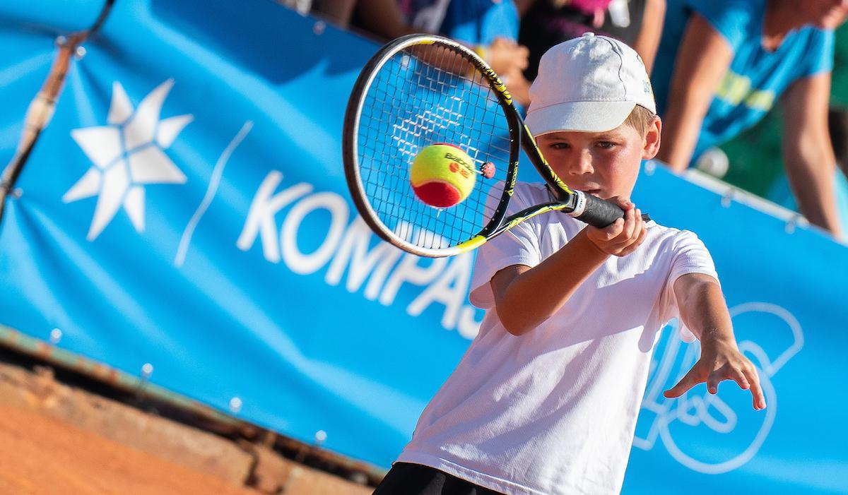 TenisFest 019 200822 NM - Na Tenis Festu v Portorožu navdušili tudi najmlajši (foto)