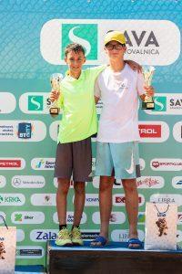 TenisFest 053 200821 NM 200x300 - U12: V Portorožu dvojni naslov za Lugariča, do zmage še Bizjakova, Kovačevićeva in Mervič