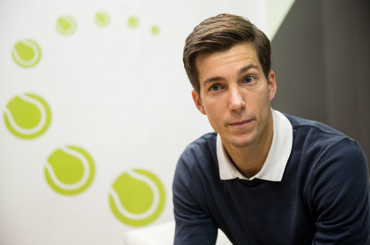 Bedene se zaveda, da Finec zna igrati dober tenis. (Foto: Vid Ponikvar/Sportida)