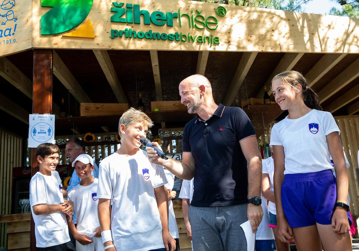 Tenis Slovenija 0187 200822 VID - Bližajo se reprezentančne priprave za U11, U12 in U14; objavljen seznam vabljenih tekmovalcev