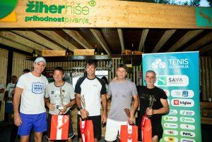 Tenis Slovenija 1209 200816 VID 1 300x202 - Teniški festival v Portorožu uspešno zaključen
