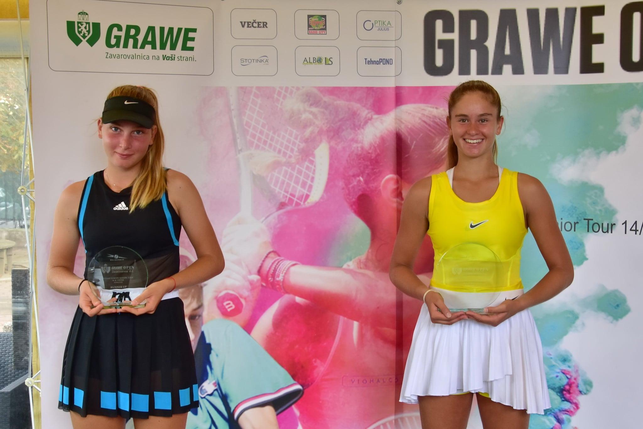119825129 3491314030919781 5322208000919177181 o - Tennis Europe: Drametova šampionka turnirja Grawe, Premzl že z naslovom v žepu, v soboto gre po novega (VIDEO)