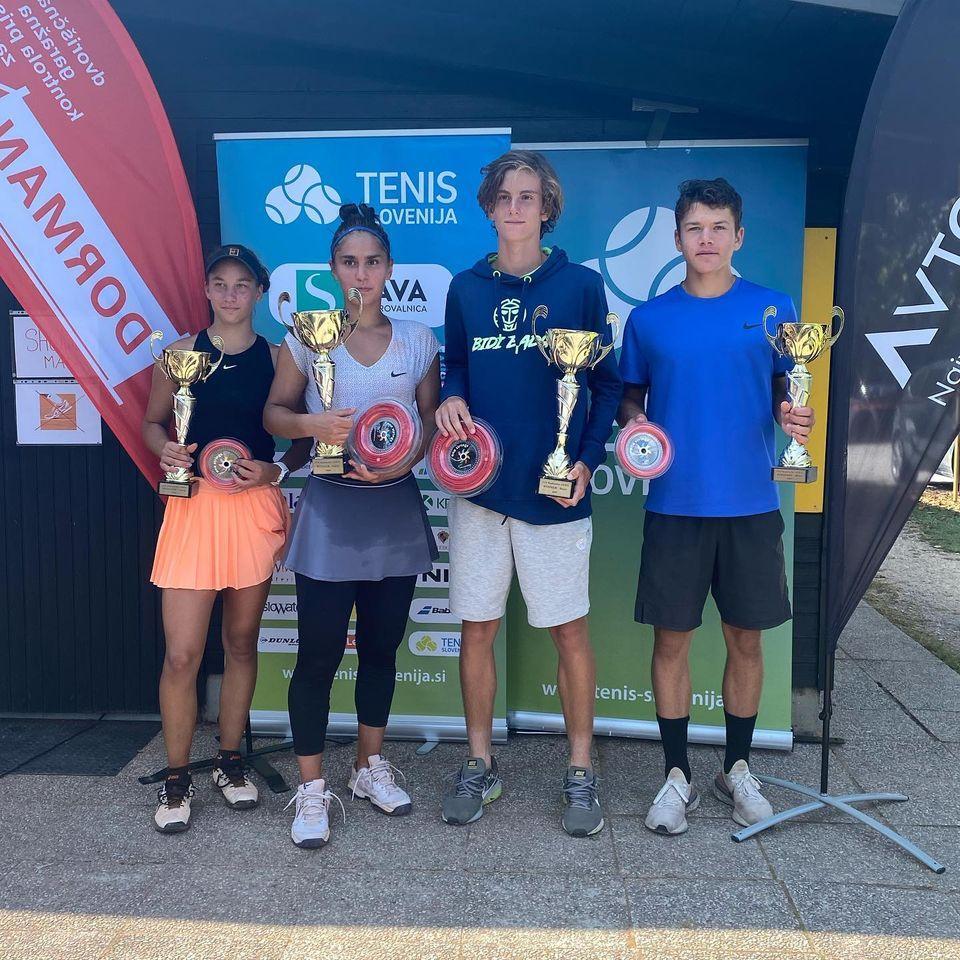 artnak1 - ITF v Radomljah: Artnak z zbiranjem naslovov nadaljuje tudi na mednarodni sceni (FOTO)