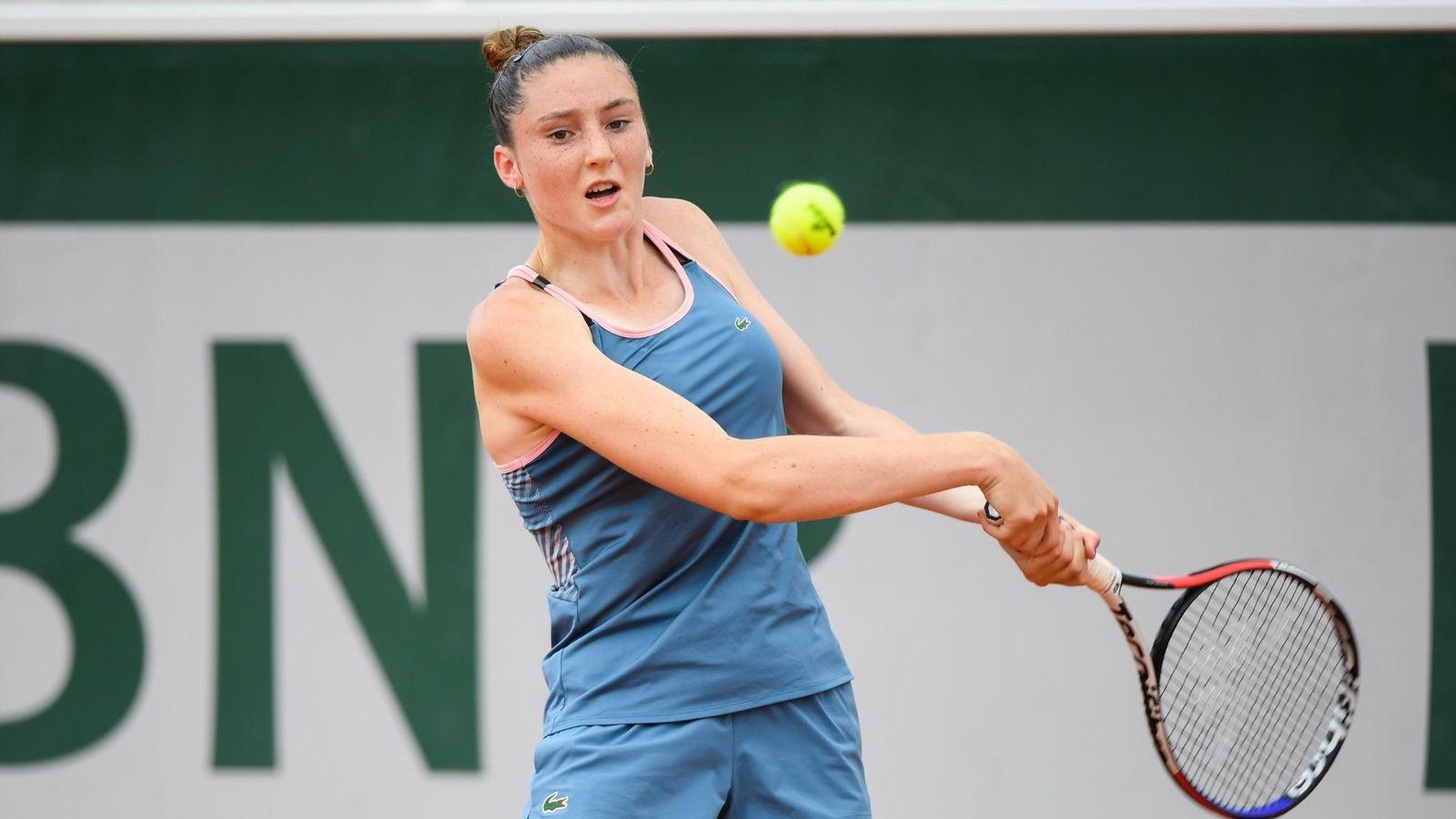Pia Lobric - Pia Lovrič na Roland Garrosu izgubila s kasnejšo zmagovalko
