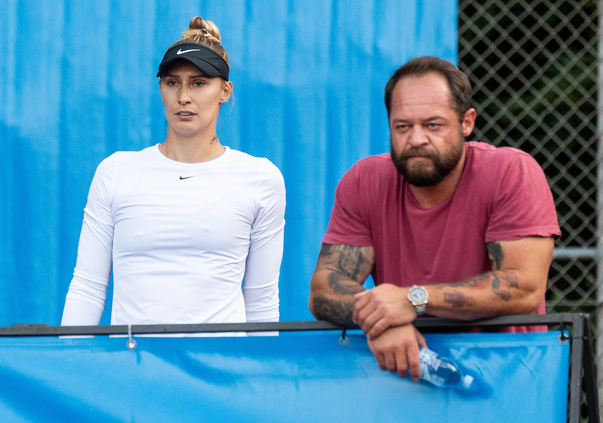 Hercog Polona trener1 - Znana nasprotnica Hercogove v Indian Wellsu, Zidanškova v 1. kolu prosta