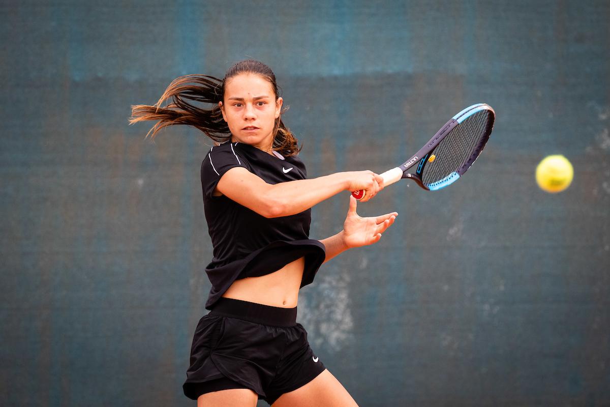 Juric Noka fh1 - ITF: Hana Bečirovič Novak v Doboju že v četrtfinalu, Juričeva odlična v Prokupljah