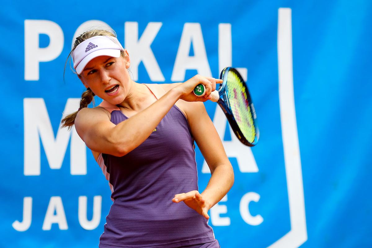 Juvan Kaja fh1 - Juvanova dobro pričela na WTA 500 turnirju v Avstraliji