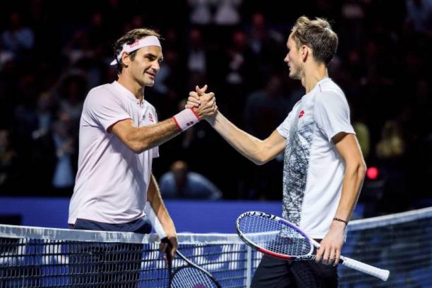 """MEDVEDEV FEDERER - Medvedev: """"Sovražil sem Rogerja Federerja"""""""