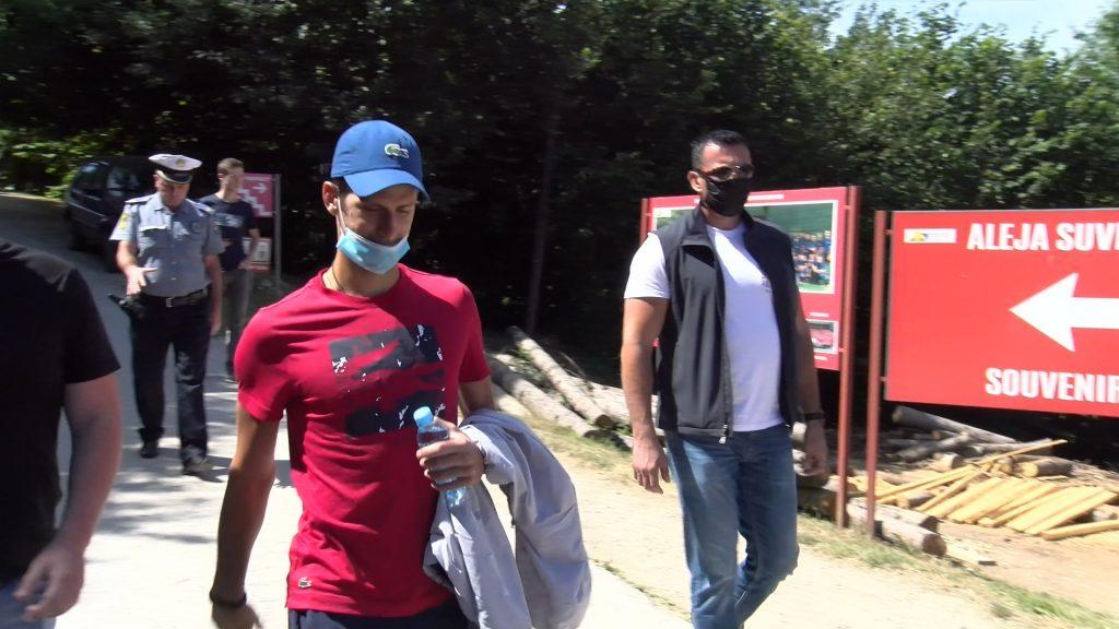 Novak Djokovic in Visoko Bosnia4 1024x576 1 - Đokovićevi piramidni obiski v koronski krizi pomagajo turizmu