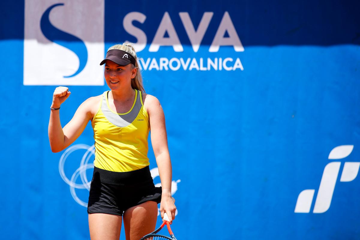 Pokal Mime Jausovec 0506 200607 MKV - ITF: Nika Radišić na močnem turnirju na Češkem že do petih zmag