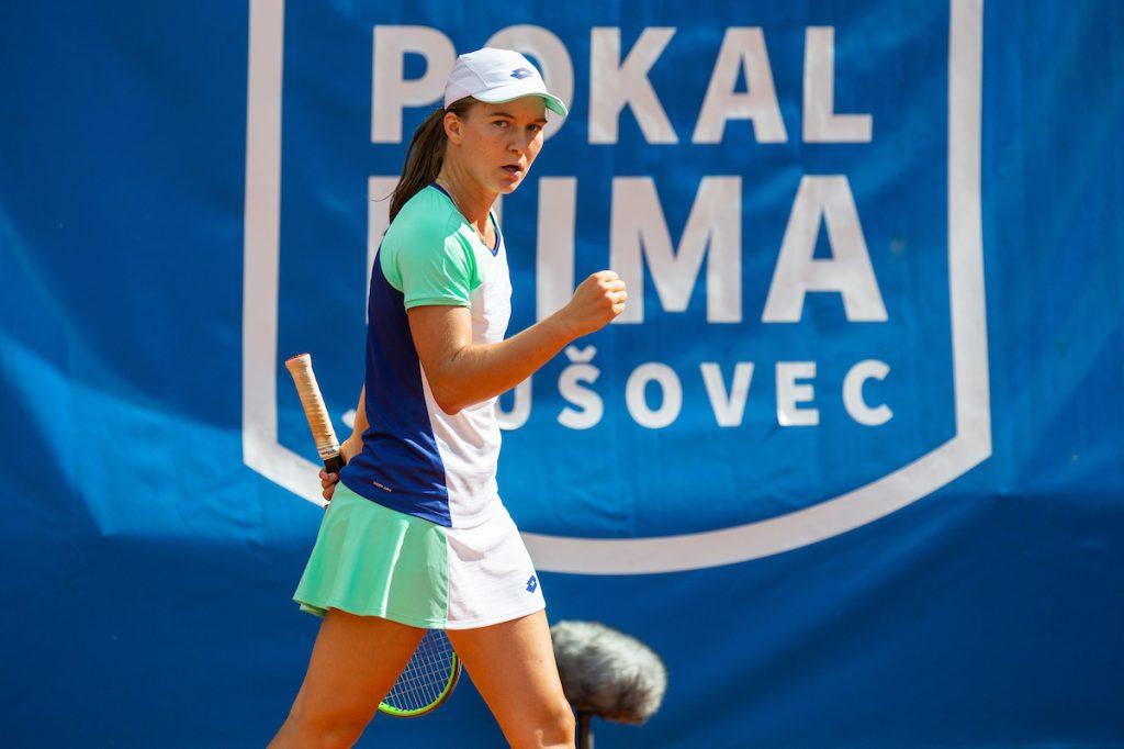 Pokal Mime Jausovec 1398 200606 VID 1024x682 - ITF: Falknerjeva premagala 212. igralko sveta, Špec in Cvetkoviča polfinalista v dvojicah
