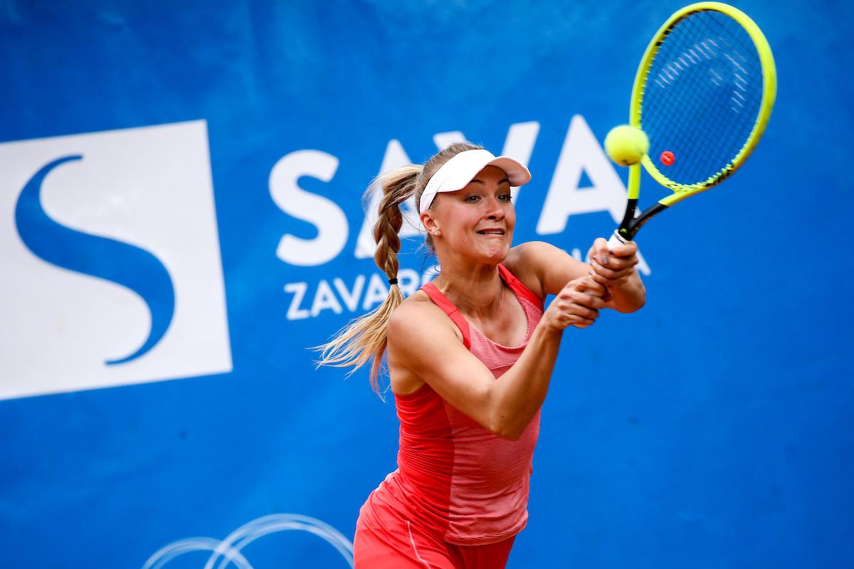 Potocnik Nina bh3 - ITF: Rebčeva edina slovenska polfinalistka v Mariboru, Potočnikova v Srbiji boljša od 1. nosilke