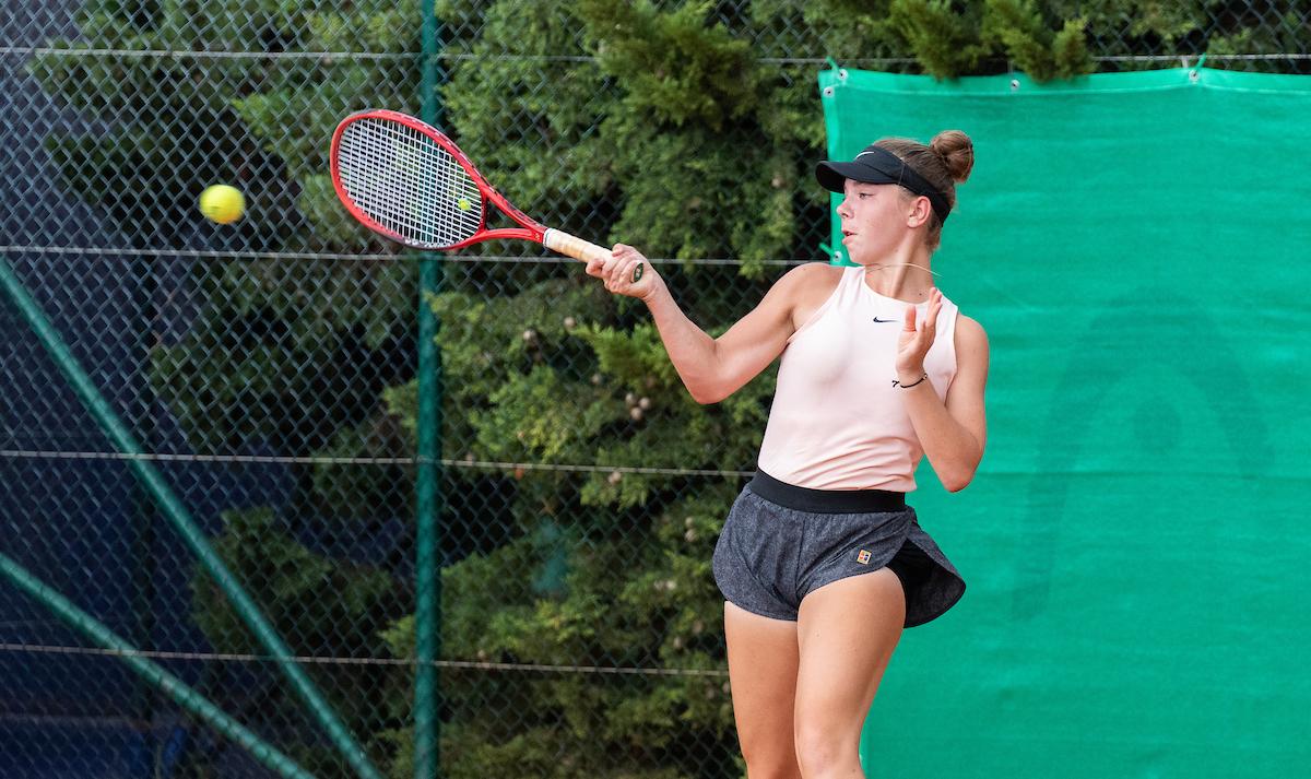Rebec Pia Marija - ITF: Pia Marija Rebec najbolj zanesljiva Slovenka na uvodu v Domžalah