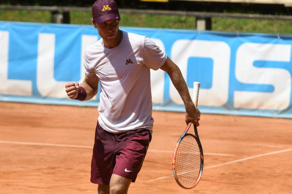 Spec Matic zmaga 1024x683 - ITF: Špec le še korak oddaljen od sanjskega tedna v Avstriji, Radišićeva v Trstu do novega naslova v dvojicah