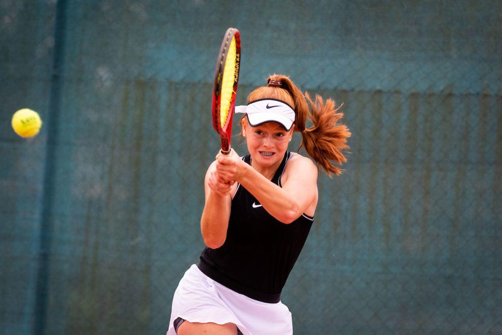 Sulin Brina bh2 1024x683 - ITF: Šulinova do zmage v Skopju, Milićeva klonila proti 12 let starejši Bolgarki