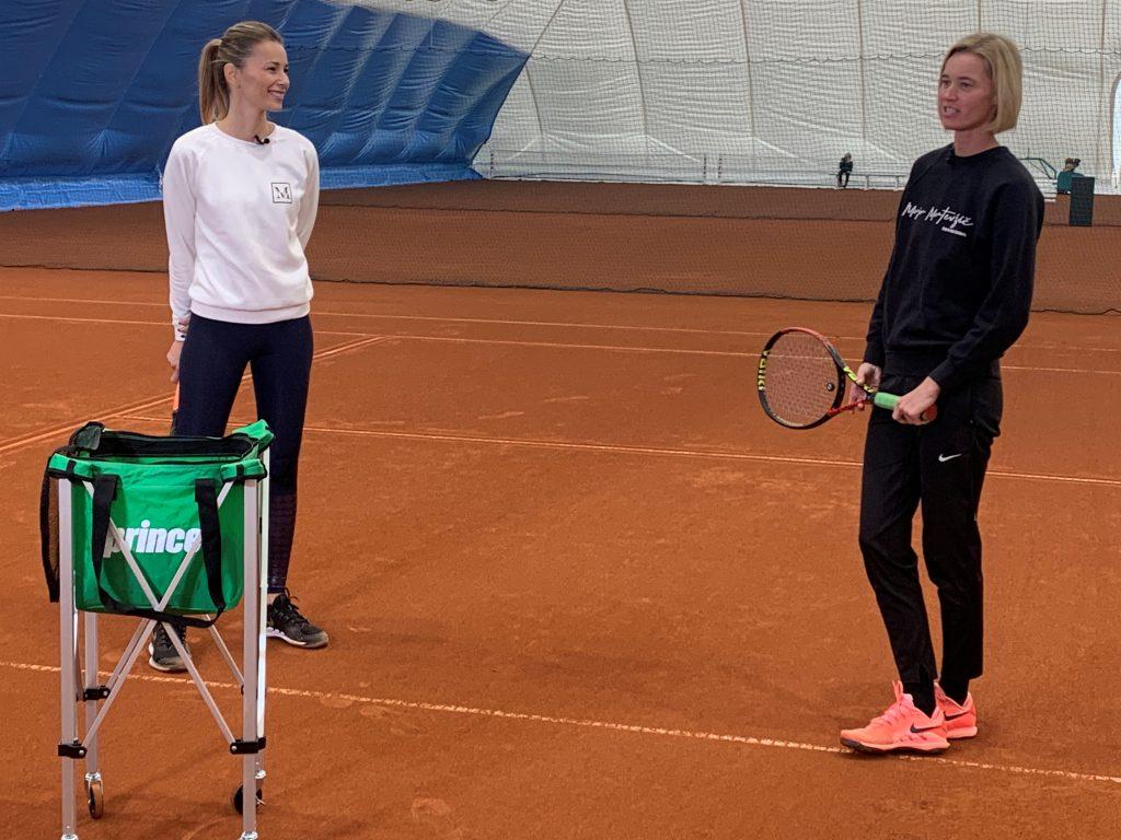 Tenisko akitnvni Maja Matevzic 1024x768 - Igranje voleja s pomočjo Maje Matevžič | Teniško aktivni!