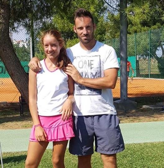 kaja - Tennis Europe: Najzerjeva za las ostala brez finala v Podgorici