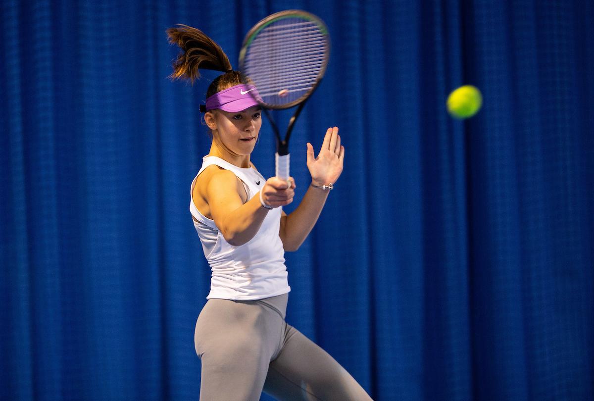 BreskvarjevMemorial 1089 201206 VID - ITF Kranj: Muller Uhanova boljša od 2. nosilke turnirja, Japelj prvič udeleženec 3. kola