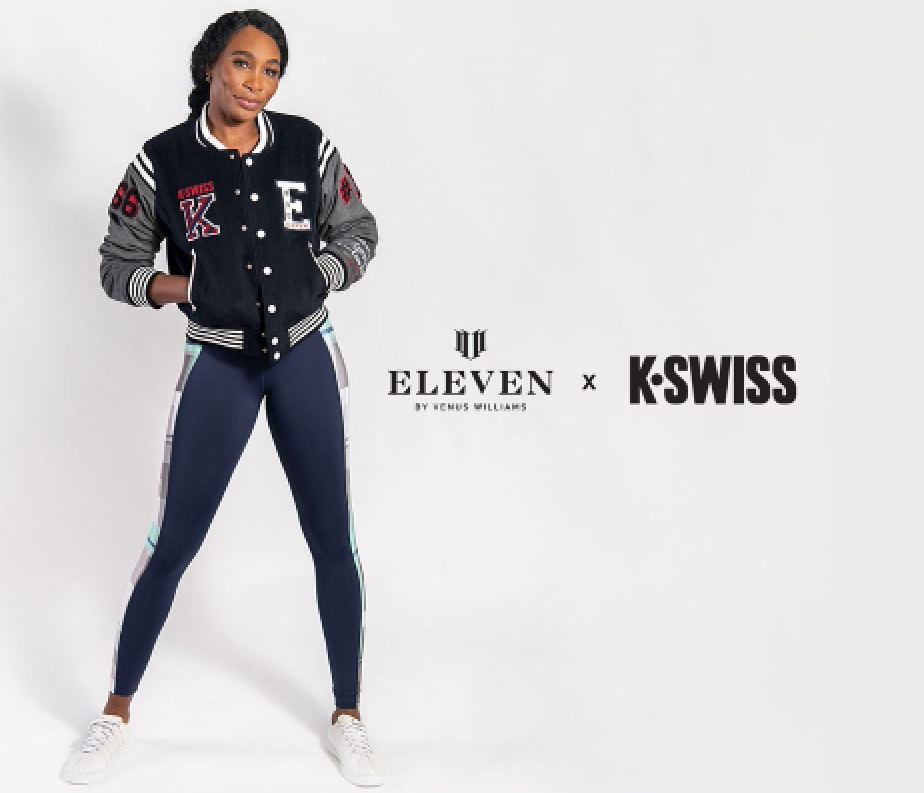 venuskswiss - Venus Williams postala partnerka s K-Swiss