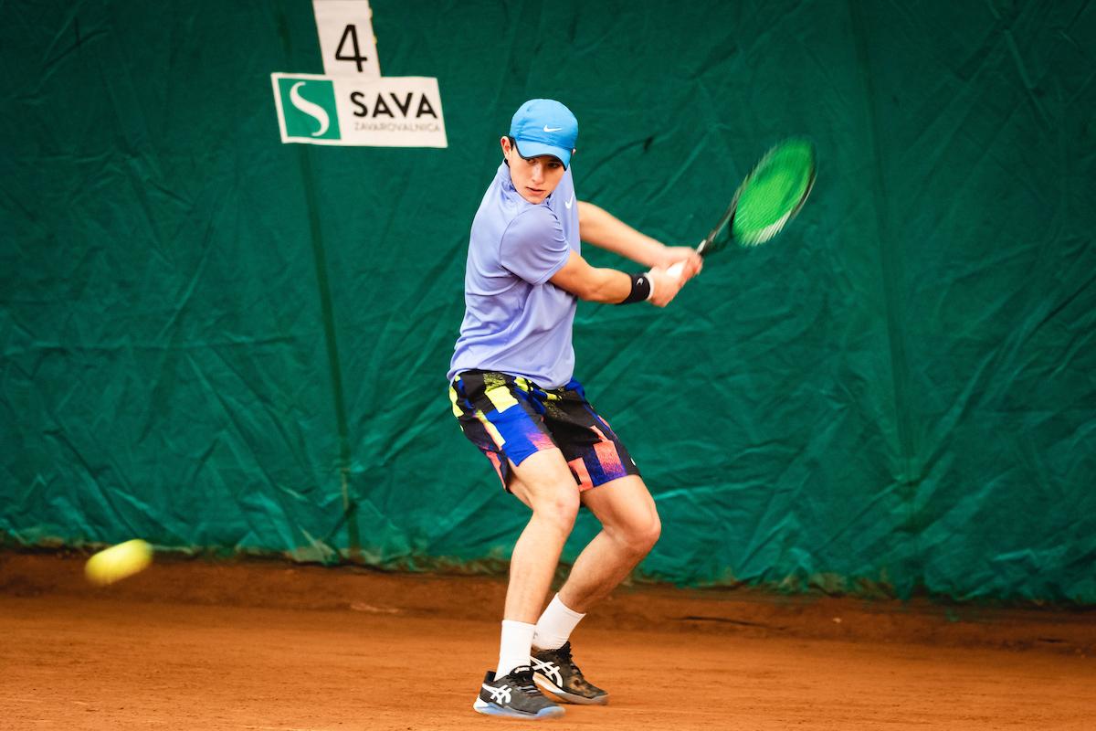 """Telemach DP 210116 BW0003 1 - Žiga Švec: """"Kot mlad igralec sem res ljubil, ampak ljubil Andyja Murrayja"""""""