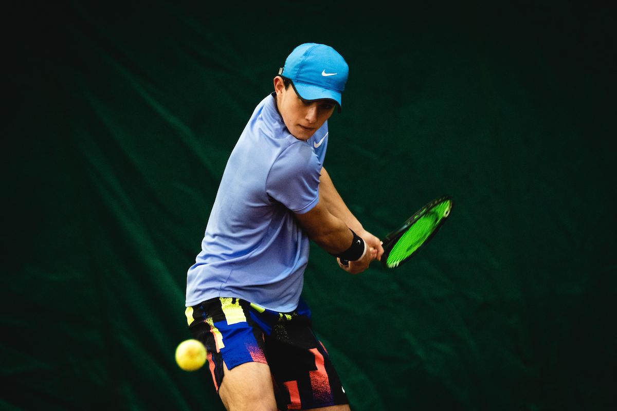 Telemach DP 210116 BW0004 - ITF: Izjemni Žiga Švec v Domžalah izločil 3. nosilca, v četrtfinalu še trije slovenski predstavniki