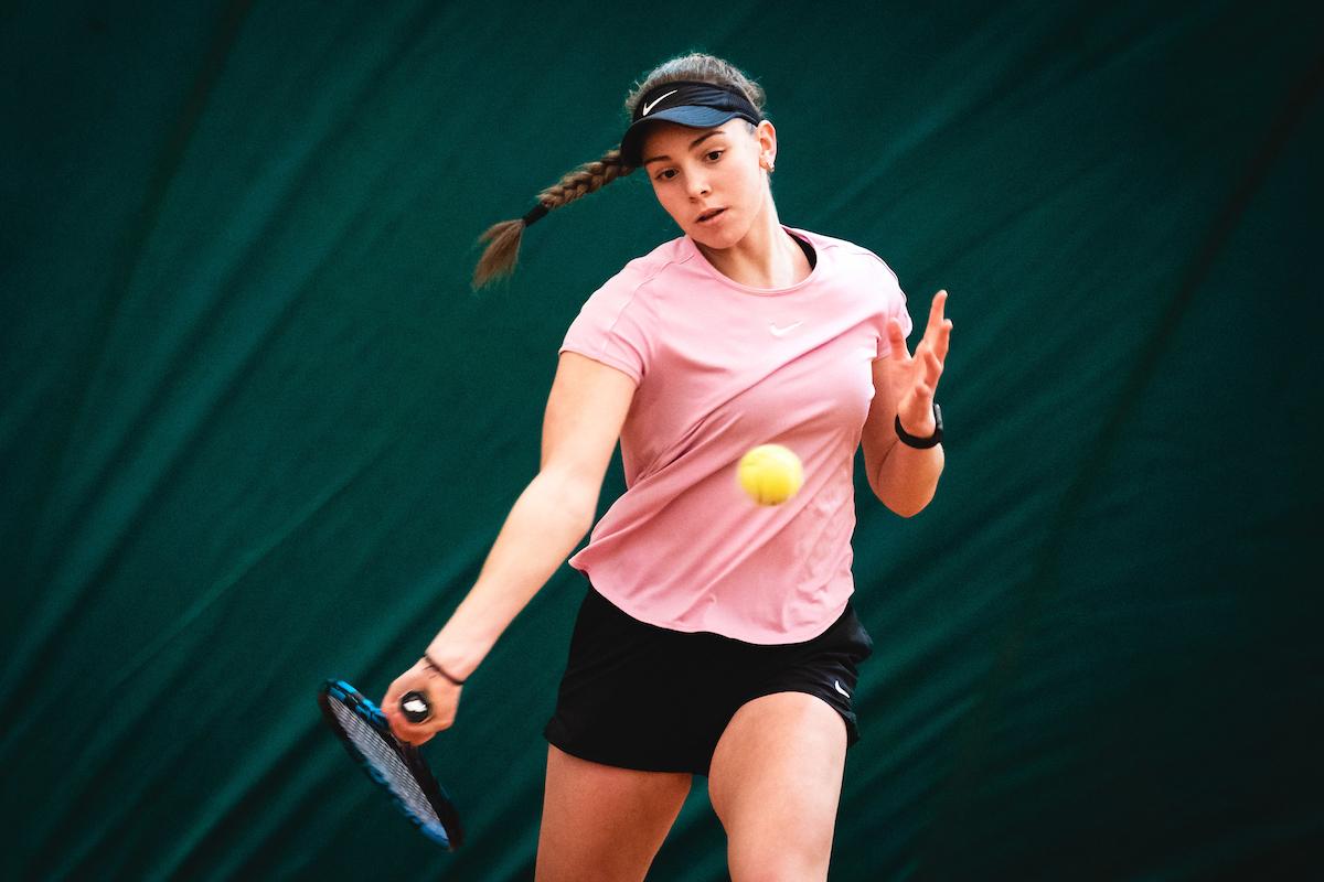 Telemach DP 210116 BW0111 - Tennis Europe: Marjanovič in Petelinškova v Zenici zaustavljena v finalu