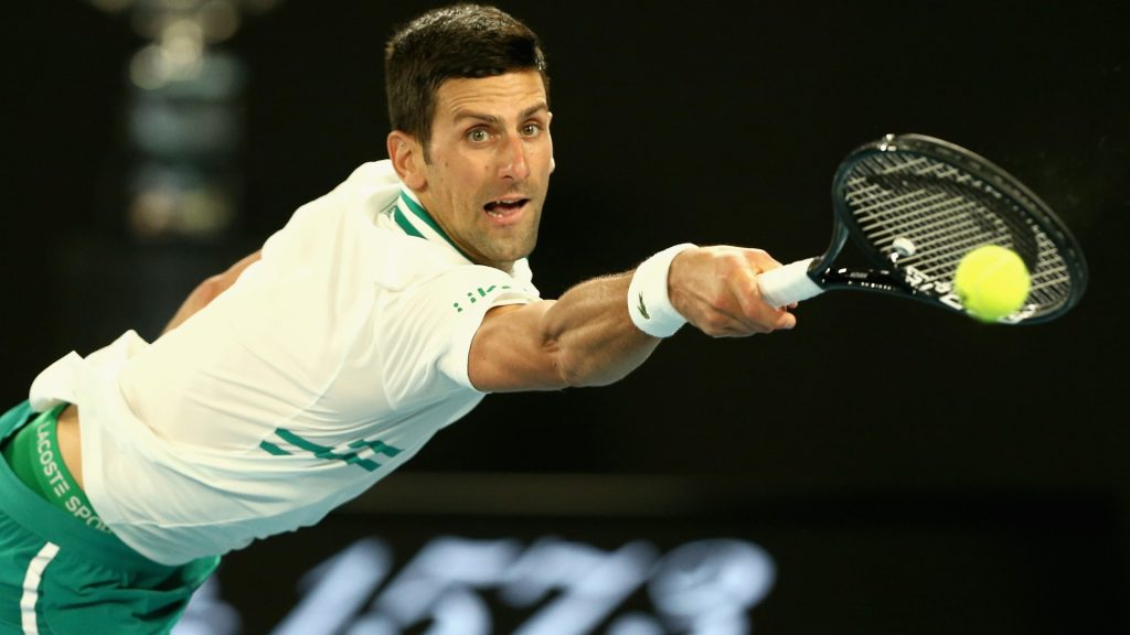 """Foto Australian Open FB 4 1 1024x576 - Novak Đoković: """"Natrganina je vse večja, potrebujem premor"""""""