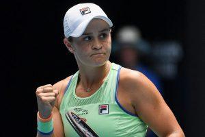 ashleigh barty melbourne wta 500 2021 300x200 - WTA lestvica: Zidanškova ostaja 33., na vrhu še vedno Bartyjeva