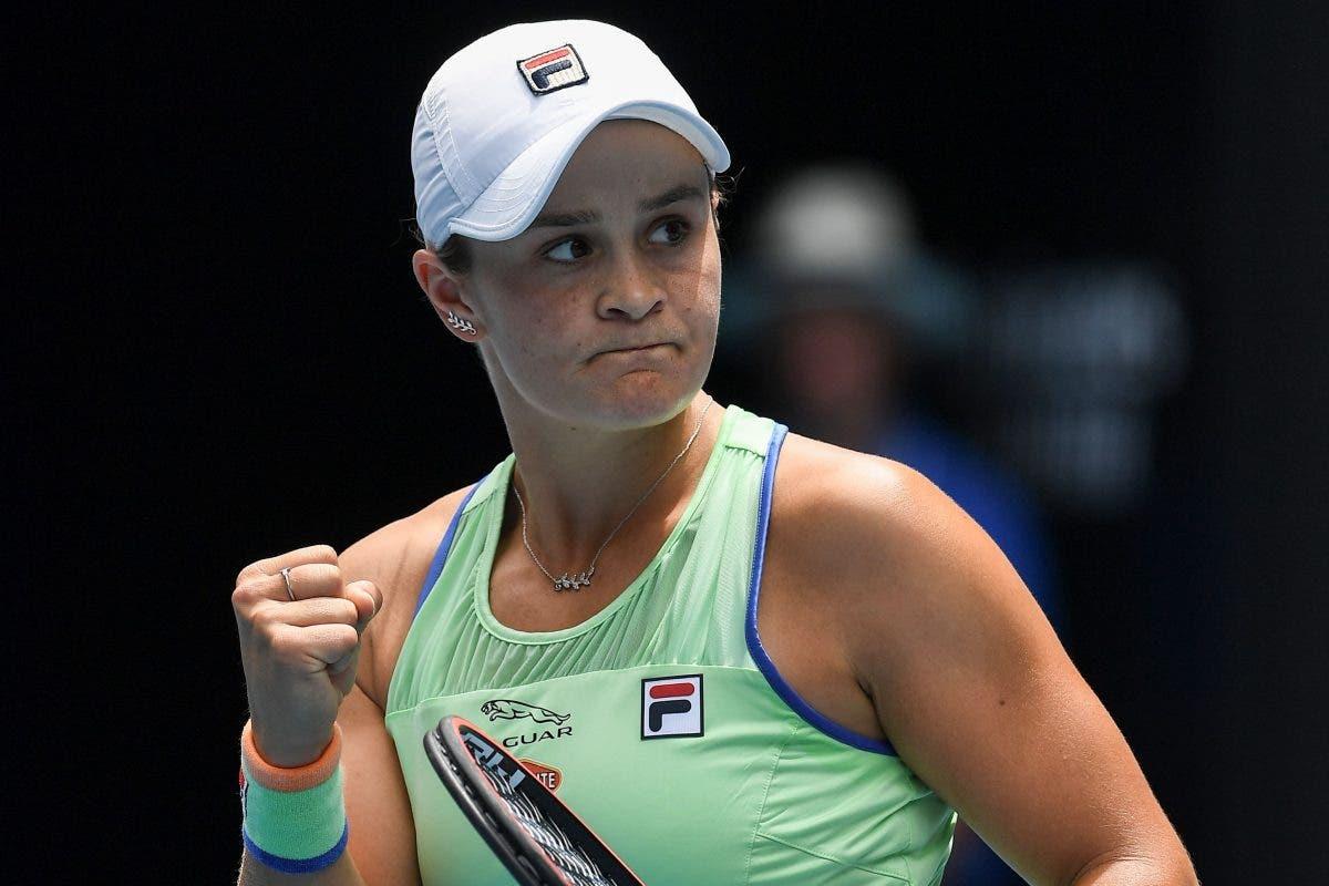 ashleigh barty melbourne wta 500 2021 - WTA lestvica: Zidanškova ostaja 33., na vrhu še vedno Bartyjeva