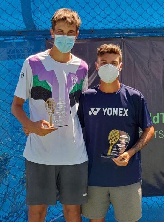 seba - ITF: Dominko El Salvador zapušča z naslovom v dvojicah in finalom med posamezniki