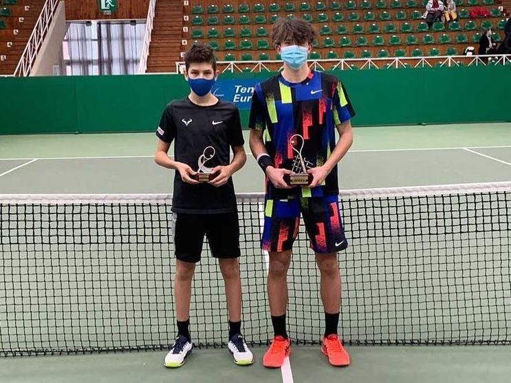 svec1 - Tennis Europe: 15-letni Švec v slogu do naslova v Litvi!