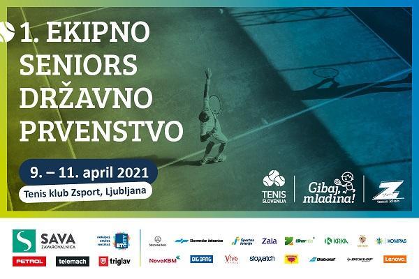TZS Seniors tekmovanja save the date 1 - Novo v 2021 | Ekipno Seniors državno prvenstvo za rekreativne igralke in igralce