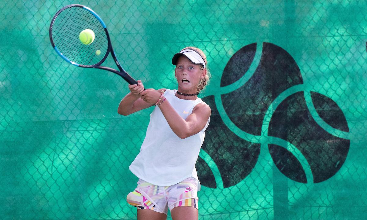 TenisFest 023 200822 NM 1 - DP U12: Mlakarjeva, Fleischmanova, Basailovićeva in Berkova naprej brez izgubljene igre