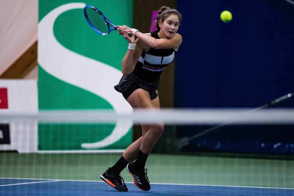Tenis DP 0832 201222 GV 1024x683 - ITF: Križnik in Drametova se v Estoniji ne ustavljata - v petek oba po naslov!