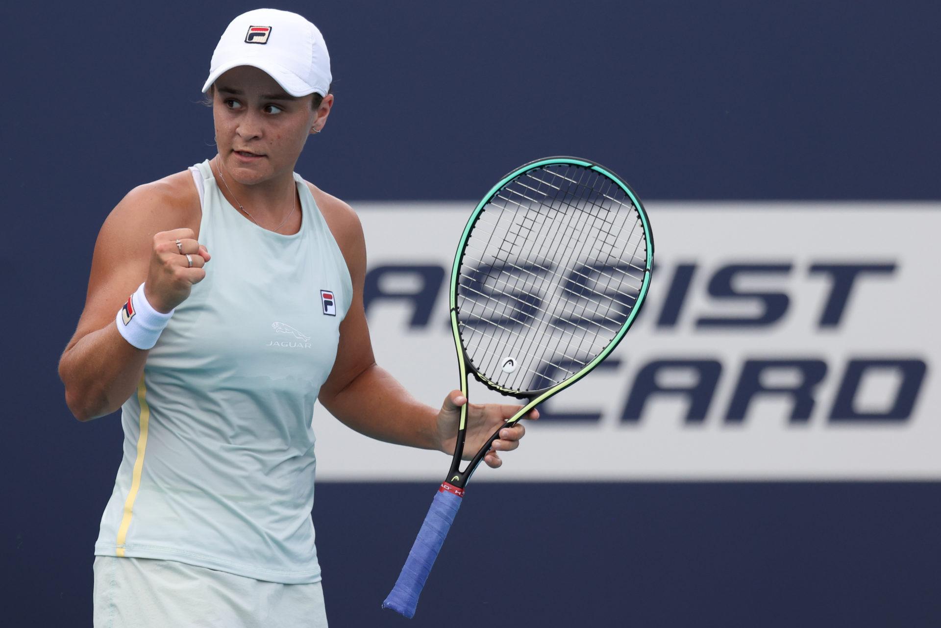 2021 03 29T164417Z 142323915 MT1USATODAY15815391 RTRMADP 3 TENNIS MIAMI OPEN - WTA lestvica: Iga Swiatek najvišje v karieri, Tamara Zidanšek ostaja 33.