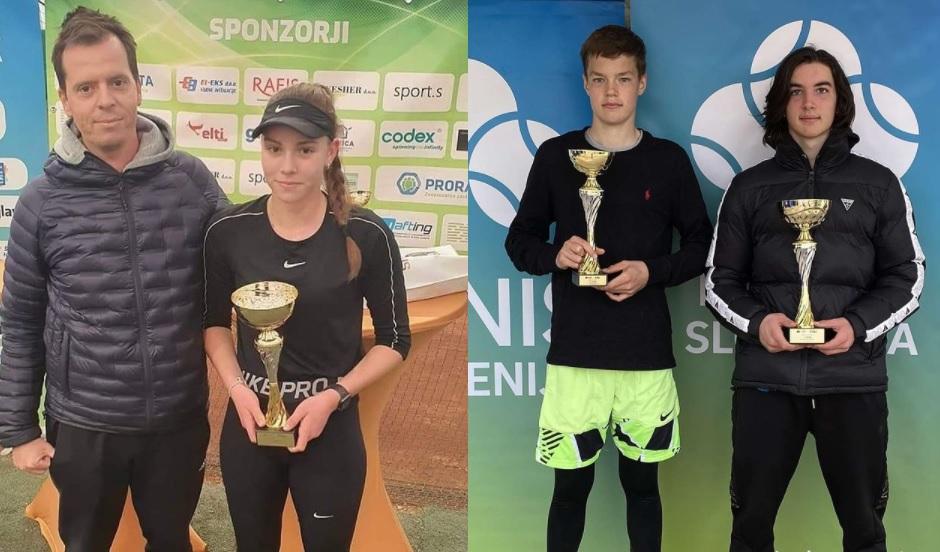 U16  - U16: V Murski Soboti po naslovu posegla Petelinškova, Urankar najboljši v Novi Gorici