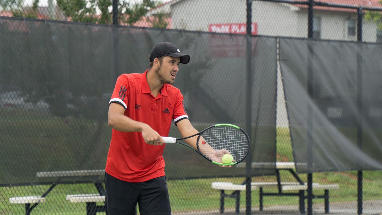 """jaka11 - Aljaž Jakob Kaplja: """"To priporočam vsem, ki so zainteresirani za igranje tenisa in študij v ZDA"""""""