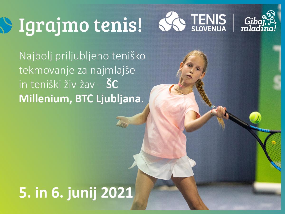 202105 Igrajmo tenis Facebook post 1200x900px - Pridružite se nam na najbolj priljubljenemu teniškemu tekmovanju za najmlajše in teniškemu živ-žavu