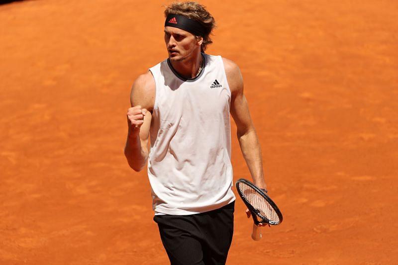 309b7 16202320406222 800 - ATP Madrid: Alexander Zverev z agresivno igro v dveh nizih izločil domačina Rafaela Nadala