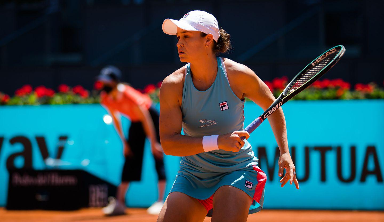 Barty SF Jimmie - Prva igralka sveta predala dvoboj v Rimu dva tedna pred Roland Garrosom