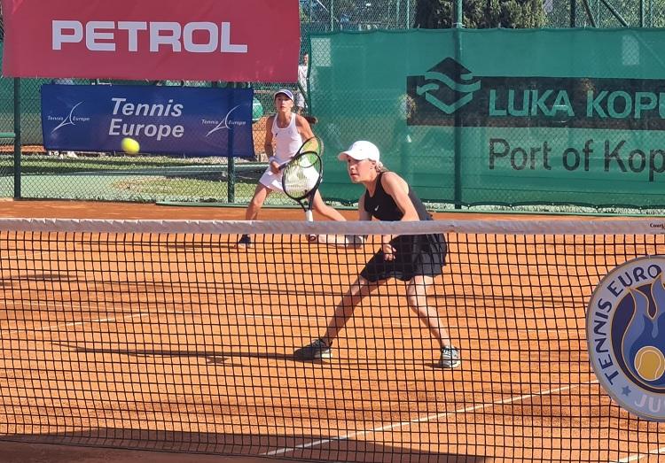 FusilYaneva - DP U12: Suljić melje dalje, Fusilova v četrtfinalu boljša od Fleischmanove