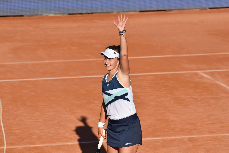 Krejcikova 1326 - WTA Strasbourg: Krejčikovi turnirski prvenec