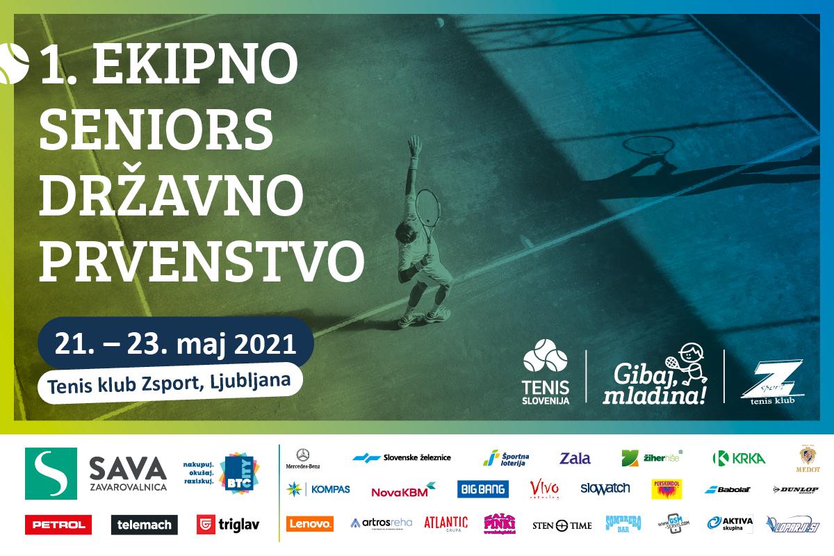 TS Ekipno Seniors DP 1 - Rekordna udeležba na prvem ekipnem Seniors državnem prvenstvu