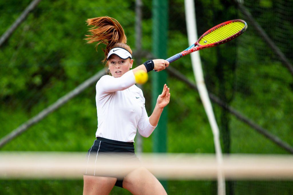 Tennis Radomlje 0033 210515 MKV 1024x683 - ITF: Rebčeva in Šulinova uspešni v 1. kolu turnirja v Mostarju, Križnik v Španiji v polfinalu dvojic