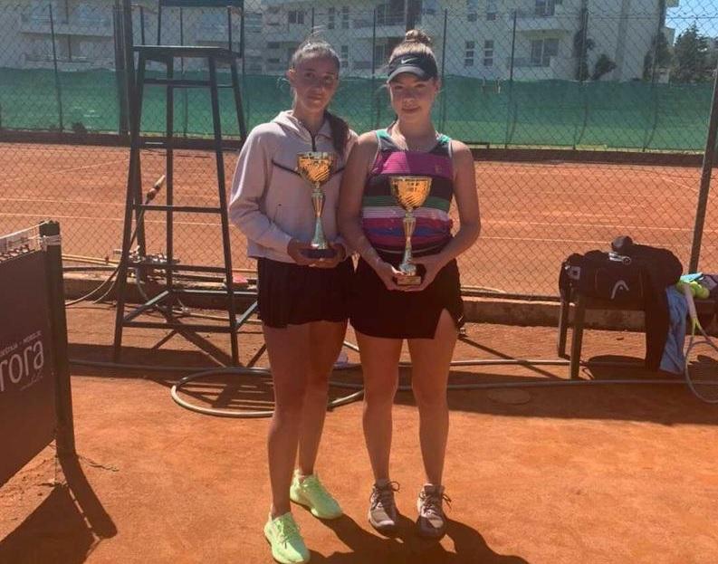 UlcinjRebec - ITF: Pia Marija Rebec v Črni Gori do drugega naslova v dvojicah